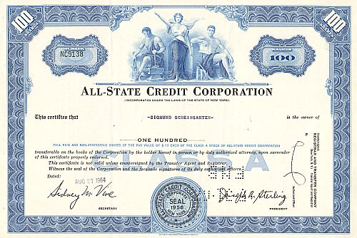 All-State Credit Corporation