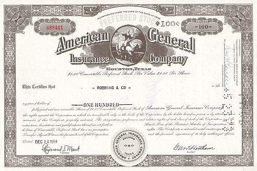 American General Insurance Company