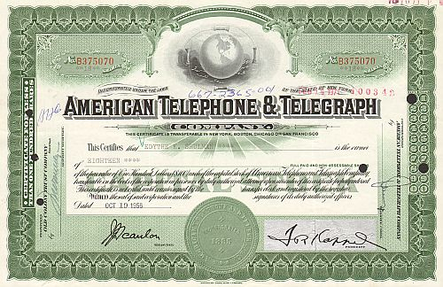 American Telephone and Telegraph Company (AT&T alte Ausgabe)