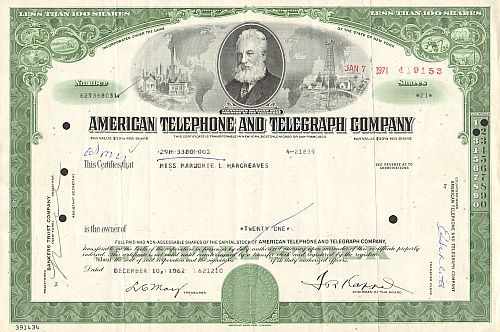 American Telephone and Telegraph Company (AT&T)
