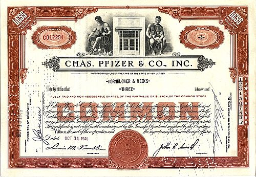 Chas. Pfizer & Co, Inc. (Viagrahersteller)