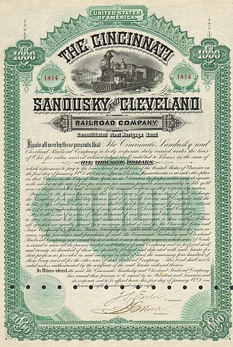 Cincinnati, Sandusky and Cleveland Railroad Company