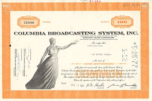 Columbia Broadcasting Systems Inc. (CBS)