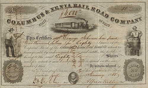 Columbus & Xenia Rail Road Company