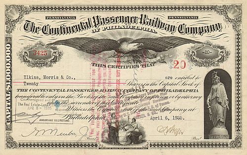 Continental Passenger Railway Company (of Philadelphia)