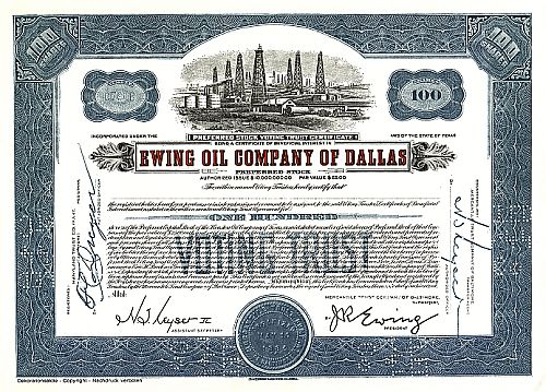 Ewing Oil Company of Dallas (Juxaktie)
