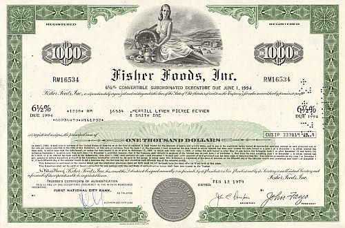 Fisher Foods, Inc.