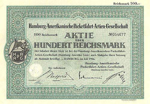 Hamburg-Amerikanische Packetfahrt-Actien-Gesellschaft (HAPAG)