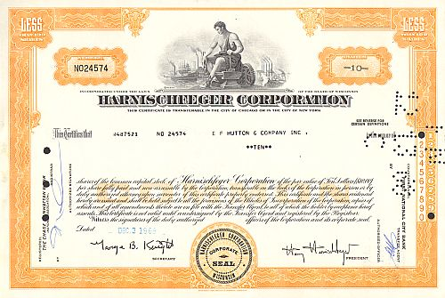 Harnischfeger Corporation