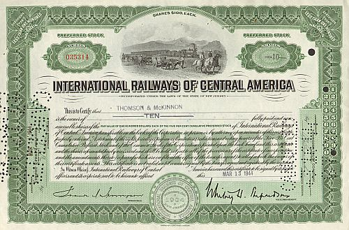 International Railways of Central America (IRCA)
