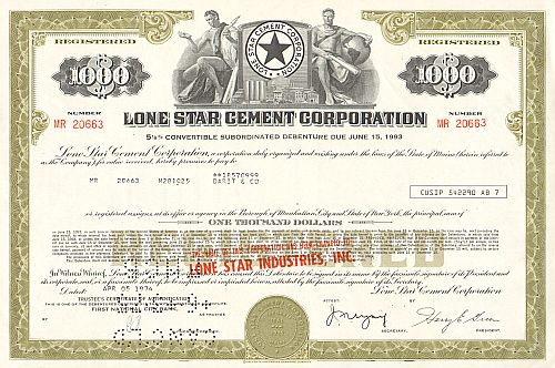 Lone Star Cement Corporation