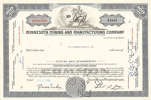 Minnesota Mining and Manufacturing Company (3M)