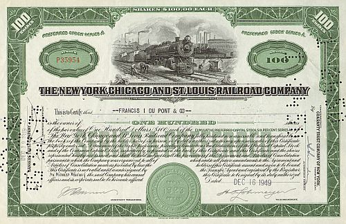 New York, Chicago and St. Louis Railroad Company