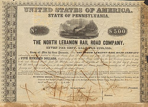North Lebanon Rail Road Company