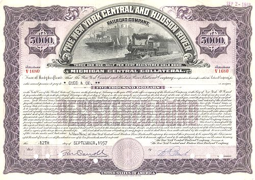 New York Central and Hudson River Railroad