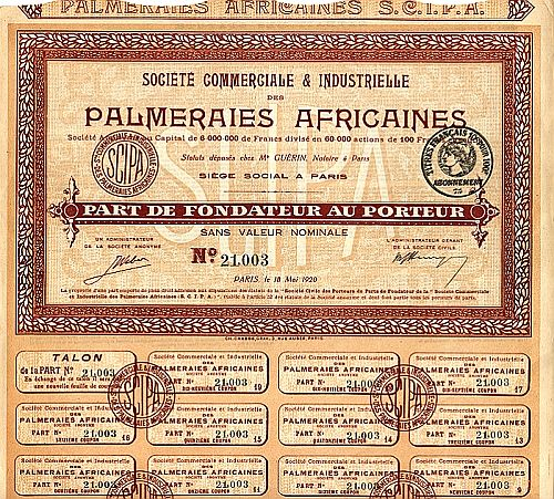 Palmeraies Africaines