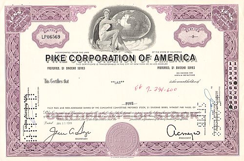 Pike Corporation of America