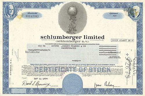 Schlumberger Ltd (Schlumberger n.v.)