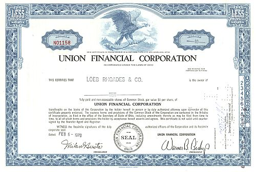 Union Financial Corporation