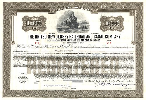 United New Jersey Railroad and Canal Company