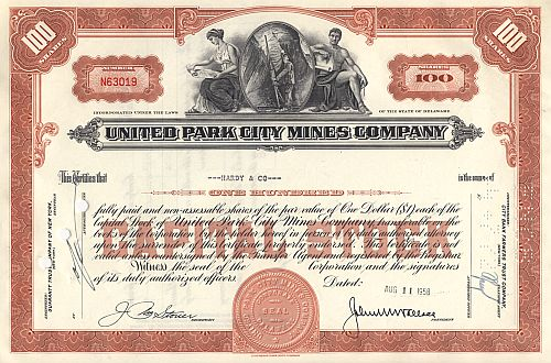 United Park City Mines Company