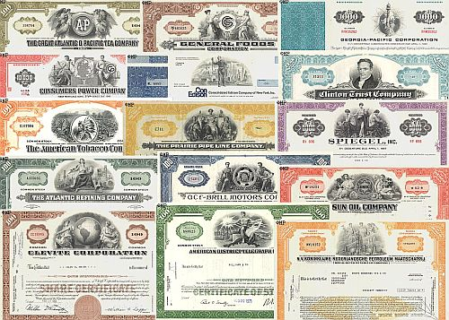 USA Wertpapier und Aktien