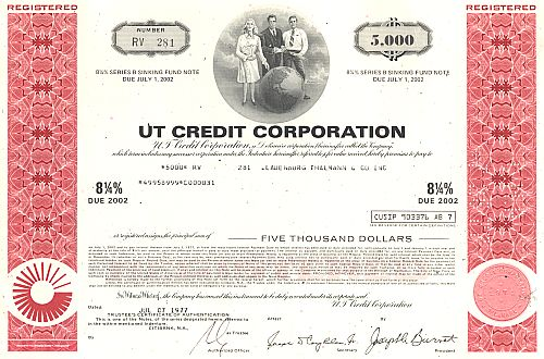 UT Credit Corporation