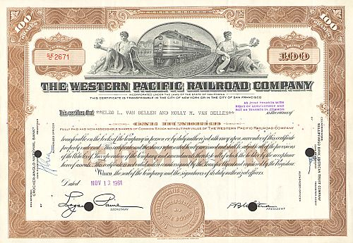 Western Pacific Railroad Company