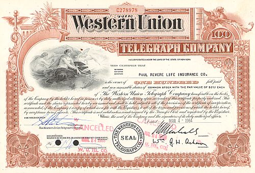 Western Union Telegraph Company (alte Version)