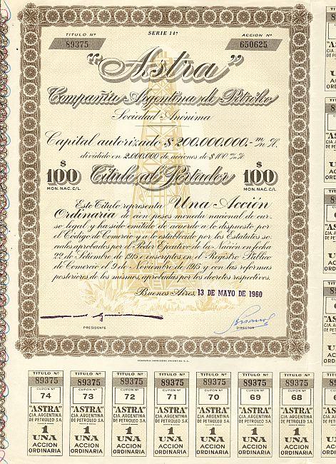 Bildergebnis für astra compania argentina de petroleo s.a