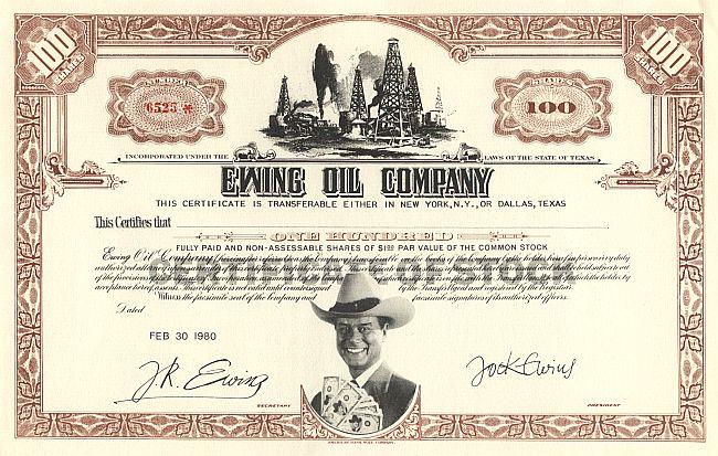 Ewing Oil Company
