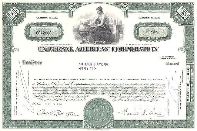 Universal American Corporation Old