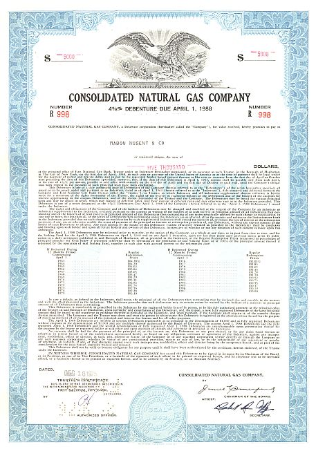Consolidated Natural Gas 88