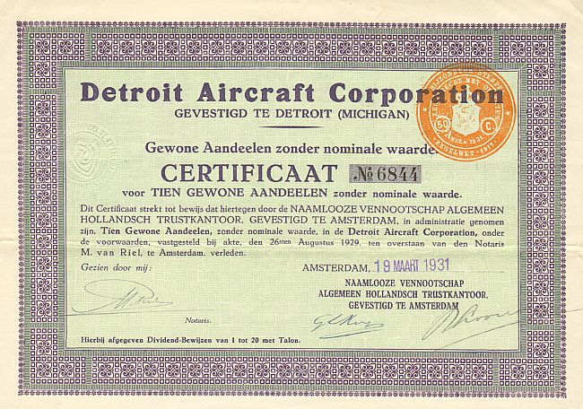 Detroit Aircraft Corporation