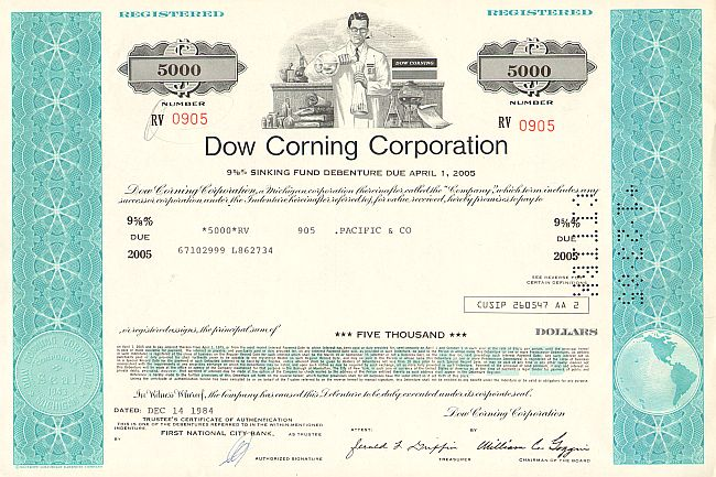 historic stocks - old certificates Oil and Chemicals