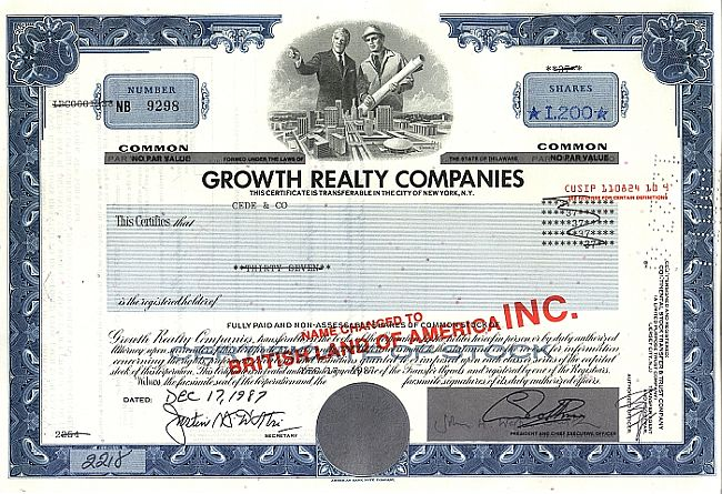 Growth Realty Companies