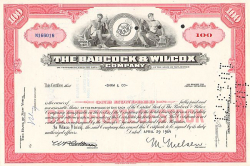 American Standard Inc.  historic stocks - old certificates