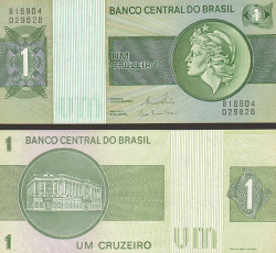 Brasilien 1 Cruzeiro 1980 - bill - paper money