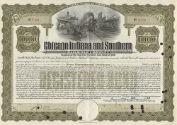 Chicago, Indiana and Southern Railroad Company -  Eisenbahn