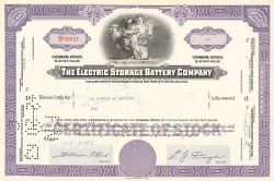 General Motors Corporation -  historic stocks - old certificates Automobiles