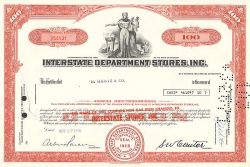 Interstate Department Stores, Inc. (Toys
