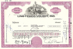Ling-Temco-Vought, Inc. (LTV) -  Handel und Transport