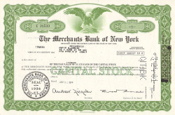 Merchants Bank of New York -  Banken und Versicherungen