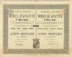 Société Anonyme Kirpitch -  historic stocks - old certificates Hotels and Real Estate