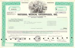 National Medical Enterprises, Inc. -  Pharmazie und Kosmetik