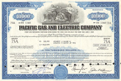 Pacific Gas and Electric Company -  Wasser und Energie