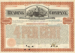 Reading Company (10000.-$ Bond) -  Eisenbahn