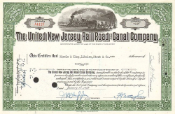 United New Jersey  Railroad and Canal Company (1960) -  Eisenbahn