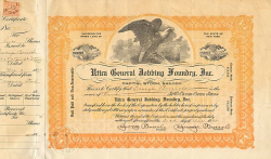 Utica General Jobbing Foundry, Inc. -  Sonstige